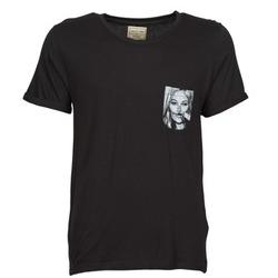Clothing Men Short-sleeved t-shirts Eleven Paris KMPOCK Black