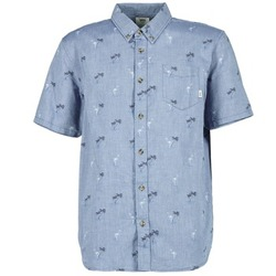 Clothing Men short-sleeved shirts Vans HOUSER SS Blue
