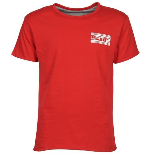 Clothing Men short-sleeved t-shirts Wati B WATI CREW Red