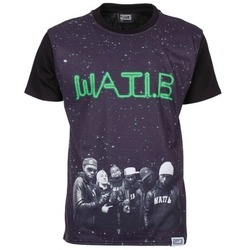 Clothing Men short-sleeved t-shirts Wati B STARS Black