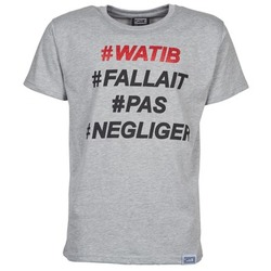 Clothing Men Short-sleeved t-shirts Wati B NEGLIGER Grey