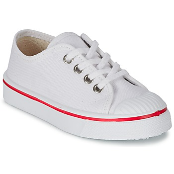 Shoes Children Low top trainers Citrouille et Compagnie PANA BEK White