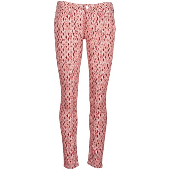 Clothing Women slim jeans Lee SCARLETT Red / Orange