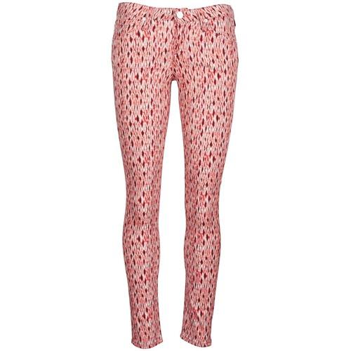 Clothing Women Slim jeans Lee SCARLETT Red / Orange