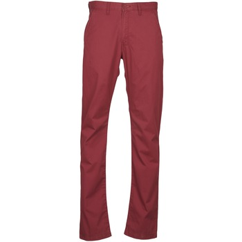 Clothing Men chinos Lee CHINO OXBLOOD Red