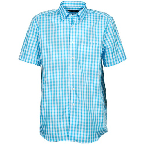 Clothing Men short-sleeved shirts Pierre Cardin 539236202-140 Blue