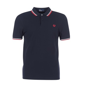 Clothing Men Short-sleeved polo shirts Fred Perry M3600 Marine