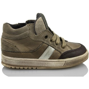 Shoes Children Hi top trainers Acebo's KIDS BOY BROWN