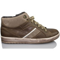Shoes Boy Hi top trainers Acebo's APEL BROWN