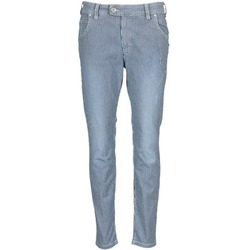 Clothing Women Straight jeans Marc O'Polo LAUREL Blue / White