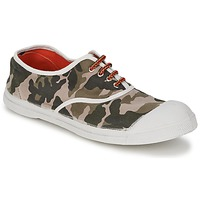Shoes Women Low top trainers Bensimon TENNIS CAMOFLUO Camouflage