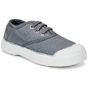 Shoes Children Low top trainers Bensimon TENNIS LACET Grey / Medium