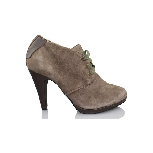 Shoes Women Shoe boots Pepe jeans booty elegant woman BROWN