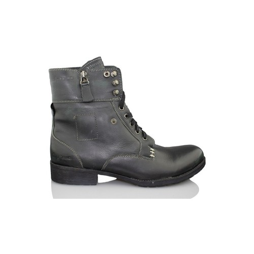 Shoes Men Mid boots Pepe jeans Shoe man BLACK