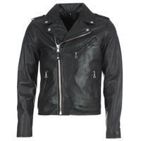 Clothing Men Leather jackets / Imitation leather Schott LEVOQ Black