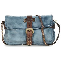Bags Women Shoulder bags Airstep / A.S.98 LINDA Blue / Brown