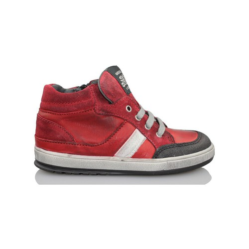 Shoes Children Hi top trainers Acebo's KIDS BOY RED