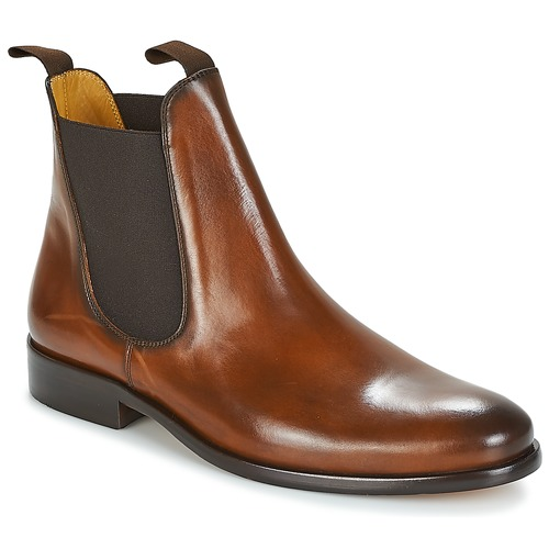 Shoes Men Mid boots Brett & Sons BERNARD Cognac