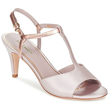 Shoes Women Sandals Luciano Barachini SPINETE Beige / Pink