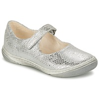Shoes Girl Flat shoes Shoo Pom MILA BABY Silver