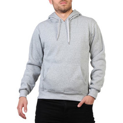 Clothing Men Jackets Krisp Drawstring Hoodie {Grey} Grey