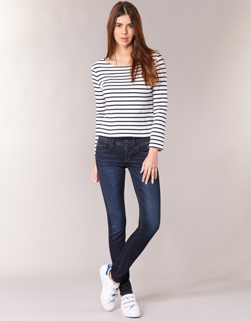 Clothing Women Skinny jeans G-Star Raw LYNN MID SKINNY Blue