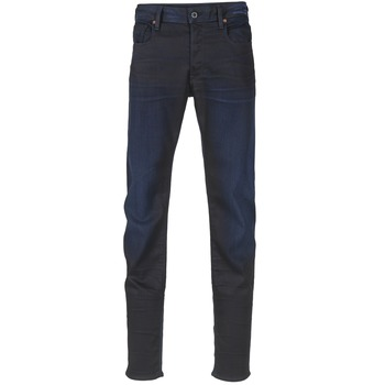 Clothing Men slim jeans G-Star Raw 3301 SLIM DARK / Aged / Slander / SUPER / Stretch / DENIM