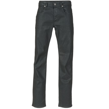 Clothing Men Straight jeans G-Star Raw 3301 STRAIGHT Black