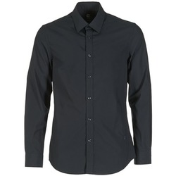 Clothing Men long-sleeved shirts G-Star Raw CORE Black