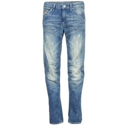 Clothing Women straight jeans G-Star Raw 5620 3D LOW BOYFRIEND WMN MEDIUM / Aged / Painted / SCATTER / DENIM
