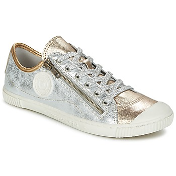 Shoes Women Low top trainers Pataugas BISKOT/MCM Silver