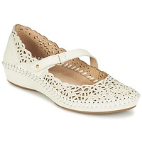 Shoes Women Flat shoes Pikolinos PUERTO VALLARTA 655 White