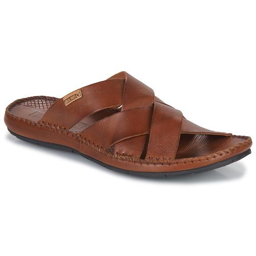 Shoes Men Mules Pikolinos TARIFA Brown