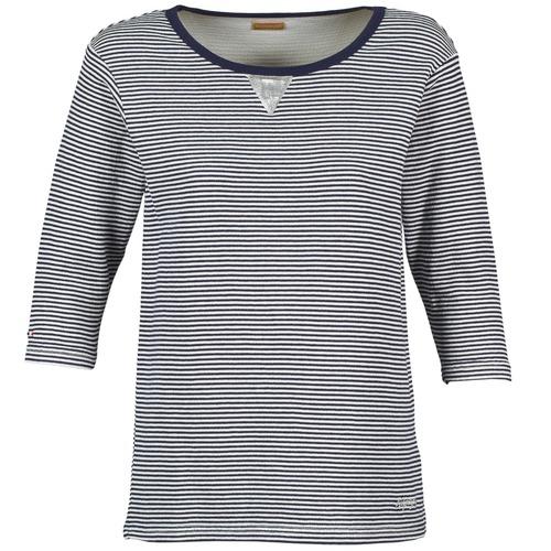 Clothing Women sweaters Napapijri BOISSERON Marine / White