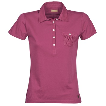 Clothing Women short-sleeved polo shirts Napapijri EZE Pink