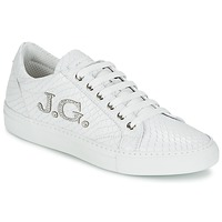 Shoes Women Low top trainers John Galliano 7977 White