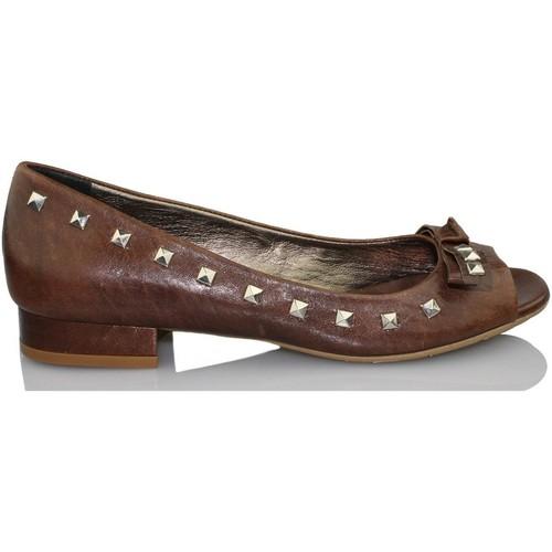 Shoes Women Heels Paco Herrero MADEIRA CIOCCO BROWN