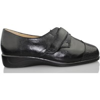 Shoes Women Derby Shoes Drucker Calzapedic JUNGLE SNAKE BLACK