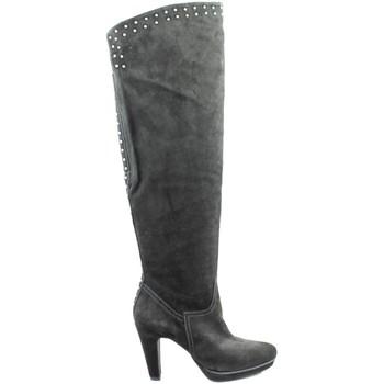 Shoes Women High boots Paco Herrero long boot BLACK