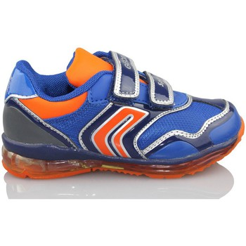 Shoes Boy Low top trainers Geox B TODO DBK BLUE