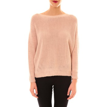 Clothing Women Jumpers De Fil En Aiguille Pull Galina rose Pink