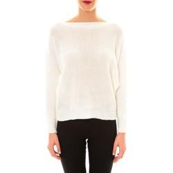 Clothing Women Jumpers De Fil En Aiguille Pull Galina blanc White