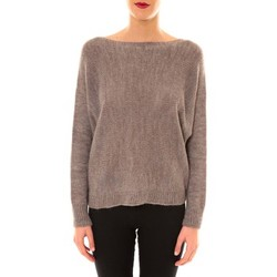 Clothing Women jumpers De Fil En Aiguille Pull Galina taupe Brown