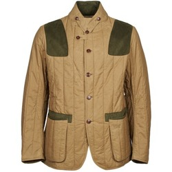 Clothing Men Jackets Barbour Draghnet Beige
