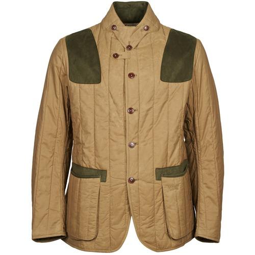 Clothing Men Jackets Barbour Draghnet Beige