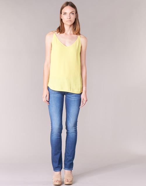 Clothing Women straight jeans Pepe jeans GEN Blue / D45