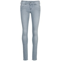 Clothing Women slim jeans Pepe jeans PIXIE Grey / Q81