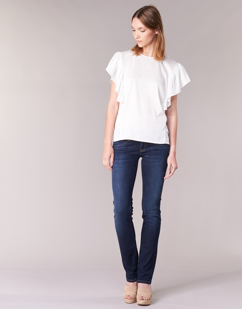 Clothing Women Straight jeans Pepe jeans GEN Blue / H06