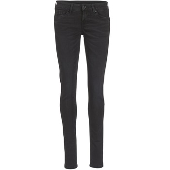 Clothing Women slim jeans Pepe jeans SOHO Black