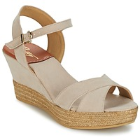 Shoes Women Sandals Betty London TECHNO BEIGE